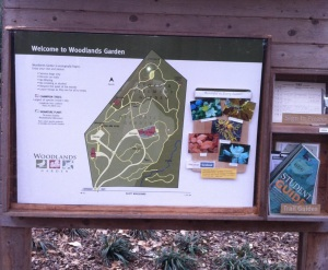 Woodlands Sign
